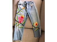 Zara jeans size 32