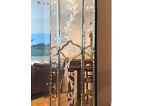 Beautiful Venetian Mirror 123cm x 92cm