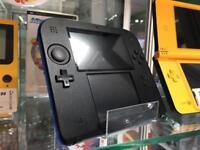 Nintendo 2DS blue portable games console