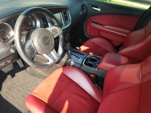 2014 Dodge Charger SRT8-Red Interior