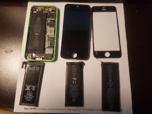 Various Iphone parts Open to All / Any offers