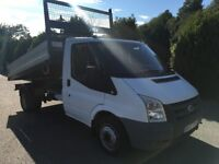 Ford transit tipper 100t350 2007 83,000 miles direct from bt 1 owner