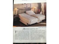 SLEEPEEZEE adjustable SINGLE bed. Electric controls. able raise top/bott. Massage.