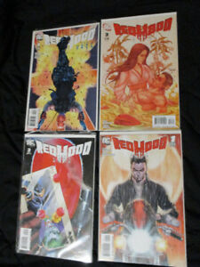 DC Nightwing/Red Hood/Robin and Red Robin Comics