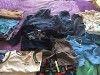 Boys bundle of clothes for age 2-3 years