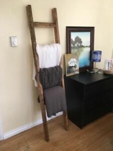 Rustic Blanket Ladder - Brand New!