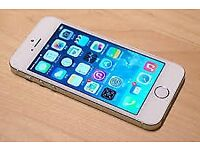 IPHONE 5S WHITE COLOUR 16GB COMING WITH CHARGER no APPLE ID READY NEW OWNER