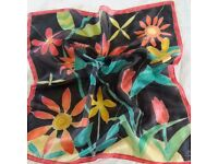 Hand painted silk scarves, wearable art, unique gift, even when you by one for yourself