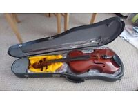 Full size Michael Poller Bucharesti Viola with new bow, rosin, tuner, material chin rest & hard case