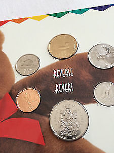 1996 Uncirculated Coin set. Great for Kids