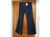 New ladies Jeans by Morgan in size 8 - wide leg - £4.00