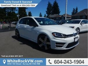2016 Volkswagen Golf R 2.0 TSI LEATHER UPHOLSTERY, RAIN SENSI...