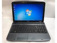 Acer Fast HD Laptop, 320GB, 3GB Ram, Windows 7, Microsoft office, Very Good Condition, Ready to Use