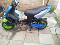 Peugeot speedfight 2 water cooled 2008