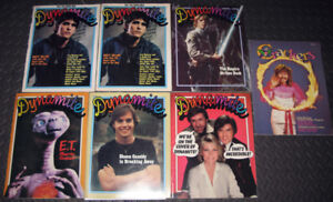 1980s Dynamite & Crackers Magazines (Empire Strikes Back, E.T.)