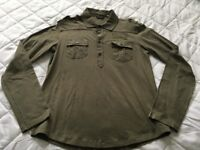 'Guess' XL long sleeved too - Olive Green