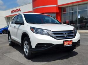 2014 Honda CR-V LX| ONE OWNER| ACCIDENT FREE| LOW KMS