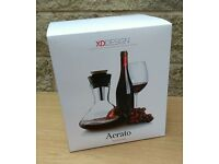 XD Design Red Wine Carafe - New & Boxed