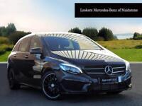 Mercedes-Benz B Class B 220 D AMG LINE PREMIUM (black) 2017-01-20