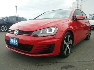 2015 Volkswagen Golf GTI Leather ! DSG ! Alloy Wheels ! and more