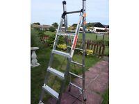 combination ladder 3 way