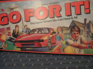 Go For It Board Game Vintage 1985.