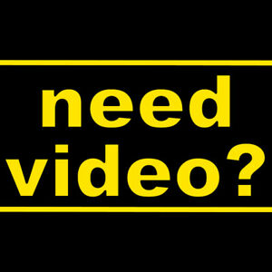►►     NEED VIDEO?    --   I shoot. I edit. I deliver.