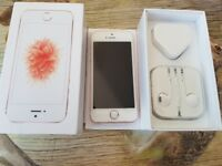 Rose gold iphone se brand new 32gb