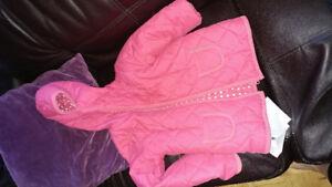 Pink fall/spring coat 6-7