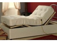 ELECTRIC POWERED ORTHOPAEDIC DIVAN 3' with REMOTE CONTROL! REDUCED FOR URGENT SALE