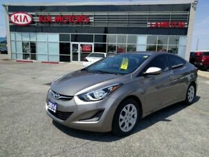 2014 Hyundai Elantra GL with WARRANTY to 100,000km