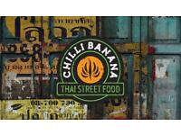 Chef de partie Thai street food