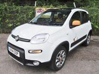 Fiat Panda 1.3 Antarctica Multijet Turbo Diesel 5DR 4X4 (white/black roof) 2014