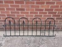 Garden Railings / wall toppers
