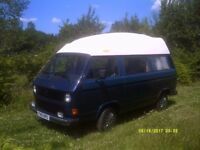 vw T25/T3 Reimo, 2.1Fi with LPG