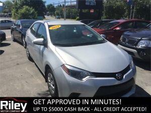 2014 Toyota Corolla CE STARTING AT $107.41 BI-WEEKLY