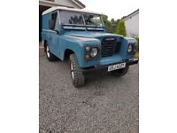 """Original 88"""" Land Rover on Galvanized chassis..1983 with only 86000mls! long MOT...no faults.."""