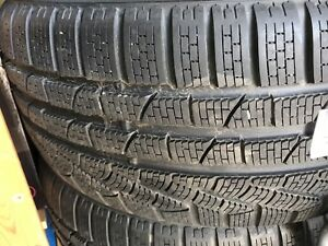4 NEW WINTER PIRELLI 245/35/20 BMW CERTIFIED RUNFLAT BMW