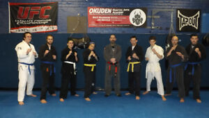 Okuden Martial Arts Academy Adult traditional Japanese Jiu-Jitsu