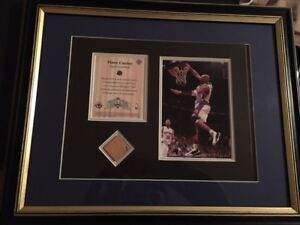 Vince Carter Toronto Raptors Picture and Frame with Floor Piece
