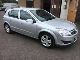 0909 Vauxhall Astra 1.3 CDTI 90 Club Silver 5 Door 45319mls MOT 12m
