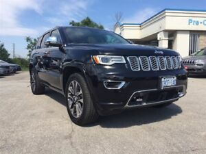 2017 Jeep Grand Cherokee DEMO SALE, OVERLAND, ACTIVE SAFETY GRP