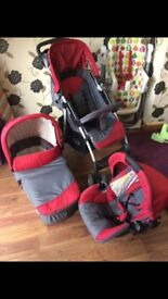 Hauck travel system in excellent condition