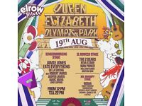 Elrow Saturday 19th August Tickets x2! £70 each!!