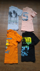 Size 4 boys t-shirts