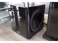 """Monitor Audio Radius 390 Subwoofer Twin 10"""" drivers RRP £600 current model"""