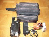JVC Compact VHS GR-AX400 VHS C PAL Camcorder