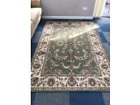 Large Dunelm rug year old
