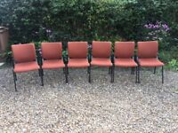 Set of 6 Stacking Chairs