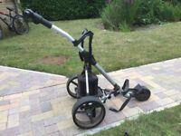 Motocaddy Electric Golf Trolley with Lead Acid Battery
